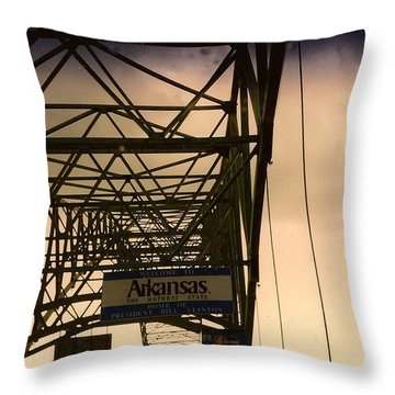 Akansas Here We Come Throw Pillow