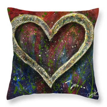 Akoma Throw Pillow