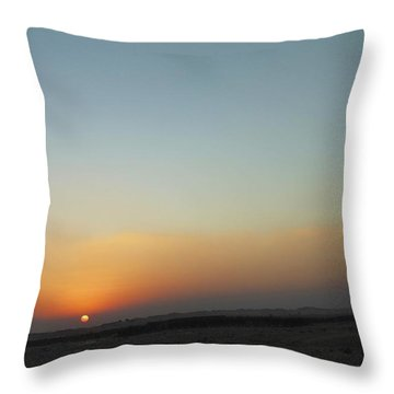 Al Ain Desert 2 Throw Pillow