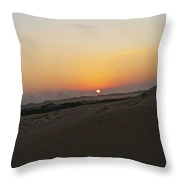 Al Ain Desert 20 Throw Pillow