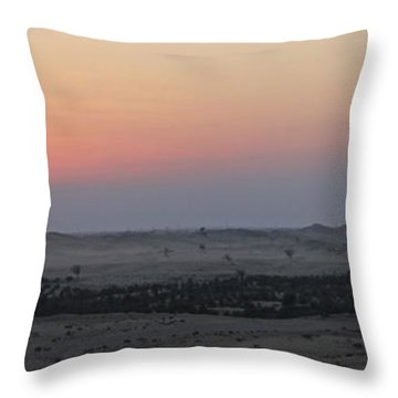 Al Ain Desert 7 Throw Pillow