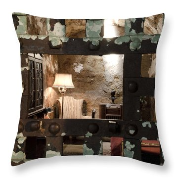 Al Capone Cell Throw Pillow