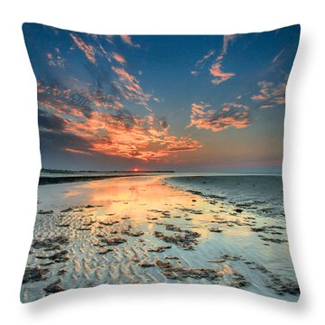 Al Hamra Sunset Throw Pillow