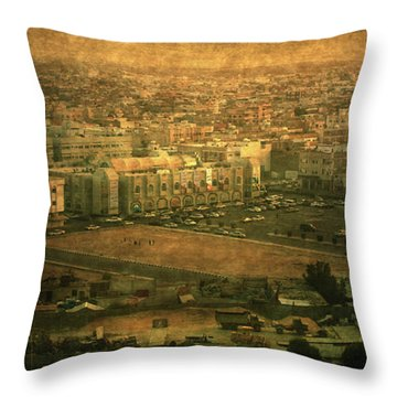 Al-khobar On Texture Throw Pillow