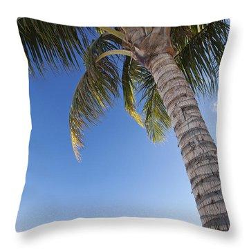 Ala Moana Beach Throw Pillow by Brandon Tabiolo