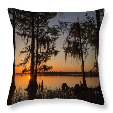 Alabama Evening Throw Pillow
