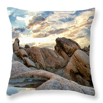 Alabama Hills Sunset Throw Pillow by Cat Connor
