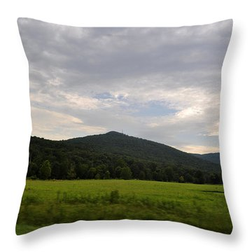 Alabama Mountains 2 Throw Pillow