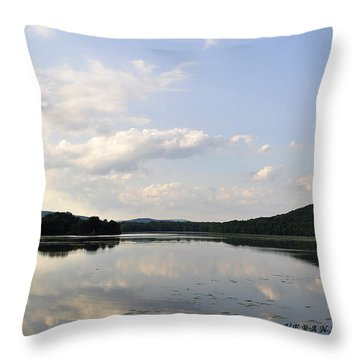 Alabama Mountains Throw Pillow