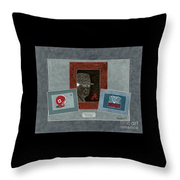 Alabama Trio  Throw Pillow by Herb Strobino