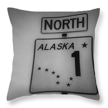 Alaska 1 Throw Pillow