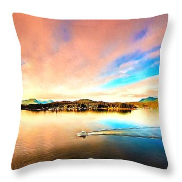 Alaska Throw Pillow by Bill Howard