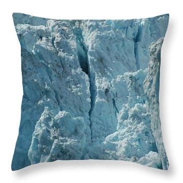Alaska Galcier Throw Pillow