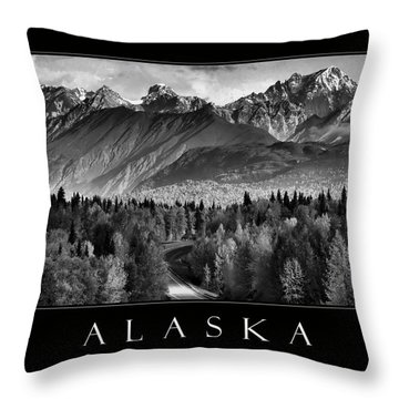 Alaska  Throw Pillow by Katie Wing Vigil