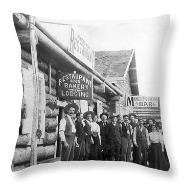 1890s Throw Pillows