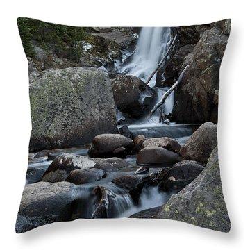 Alberta Falls Throw Pillow