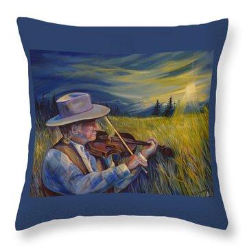 Alberta Lullaby Throw Pillow
