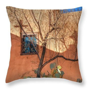 Albuquerque Mission Throw Pillow