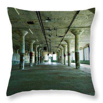 Alcatraz 5 Throw Pillow by Micah May
