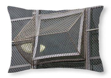 Alcatraz Window Throw Pillow by Art Block Collections
