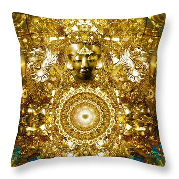 Alchemy Of The Heart Throw Pillow