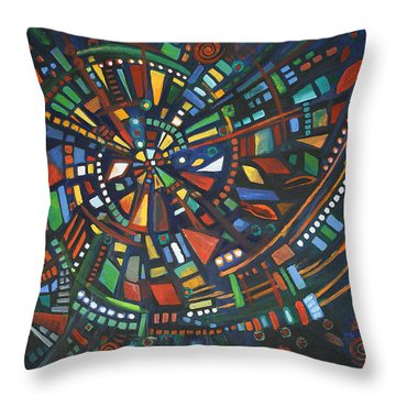 Alcheringa Throw Pillow