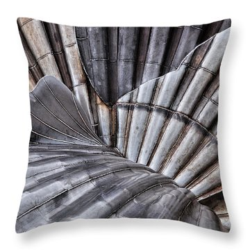 Aldeburgh Shell Abstract Throw Pillow
