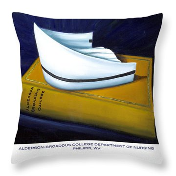 Alderson-broaddus College Throw Pillow