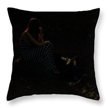 Alenushka Throw Pillow