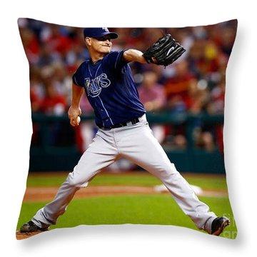 Alex Cobb #53 Throw Pillow