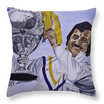 Alex Murphy Throw Pillow