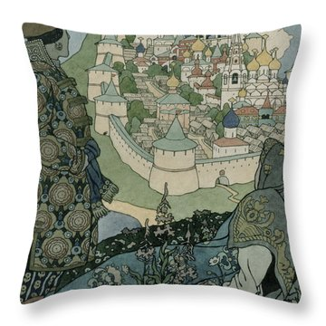 Childrens Illustration Drawings Throw Pillows