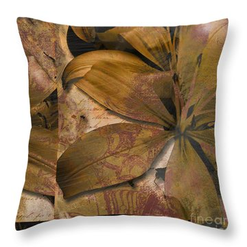 Alexia II Throw Pillow