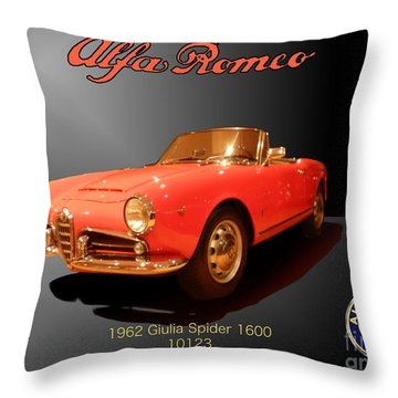 Alfa Romeo Throw Pillow