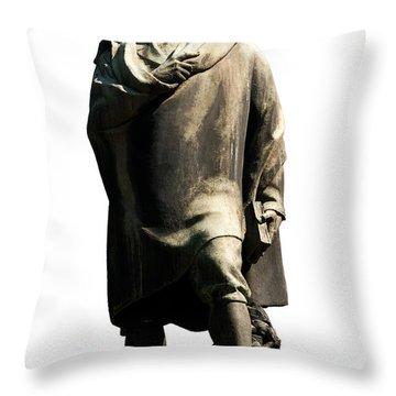 Throw Pillow featuring the photograph Alfredo Oriani by Fabrizio Troiani
