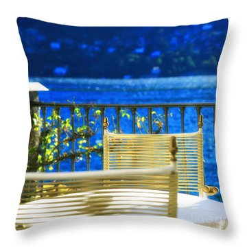 Alfresco Dining Throw Pillow