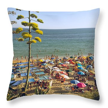 Algarve Throw Pillows