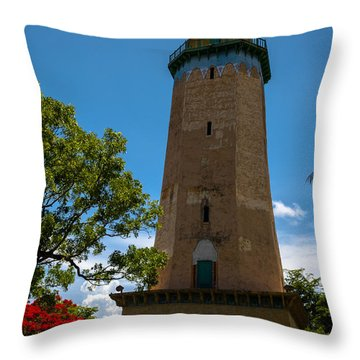 Alhambra Water Tower Of Coral Gables Throw Pillow