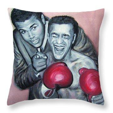 Ali And Sammy Throw Pillow