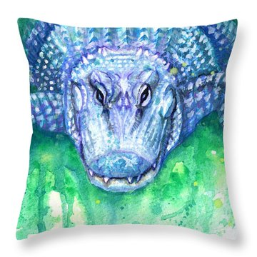 Ali Throw Pillow by Ashley Kujan