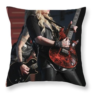 Orianthi Panagaris Throw Pillow
