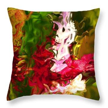 Alice Throw Pillow by Richard Thomas