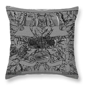 Throw Pillow featuring the photograph Alien Artifact by Robert Kernodle