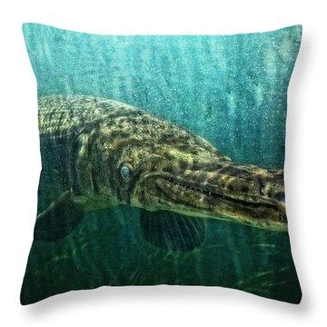 Alien Creature Throw Pillow