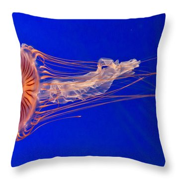 Alien Throw Pillow by Eti Reid