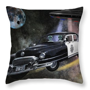In Pursuit Throw Pillow