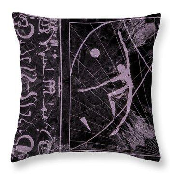 Throw Pillow featuring the photograph Alien Hieroglyphics by Robert Kernodle