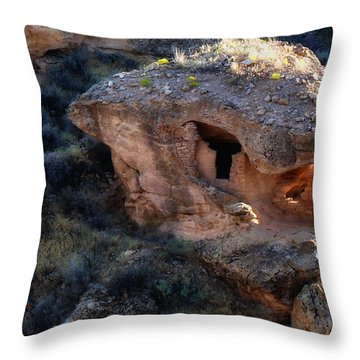 Alien House Throw Pillow