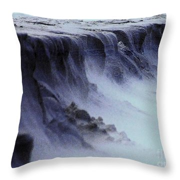 Alien Landscape The Aftermath Part 2 Throw Pillow by Blair Stuart