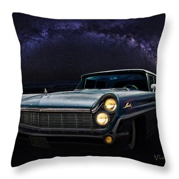Alien Lincoln Roswell Saturday Night Throw Pillow